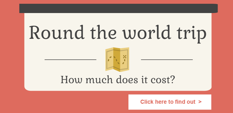 How much does a round the world trip cost