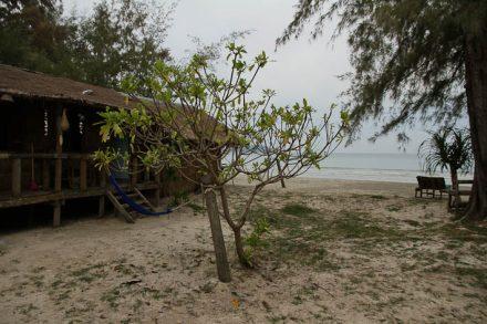 Notre bungalow sur la plage