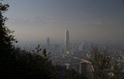 Santiago, sous des nuages de pollution.