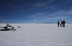 Making off of our series of pictures in the Salar de Uyuni