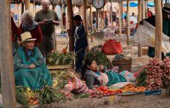 Marché de ChincheroChinchero market