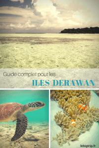 Preparez votre voyage aux iles Derawan, Indonésie, Bornéo