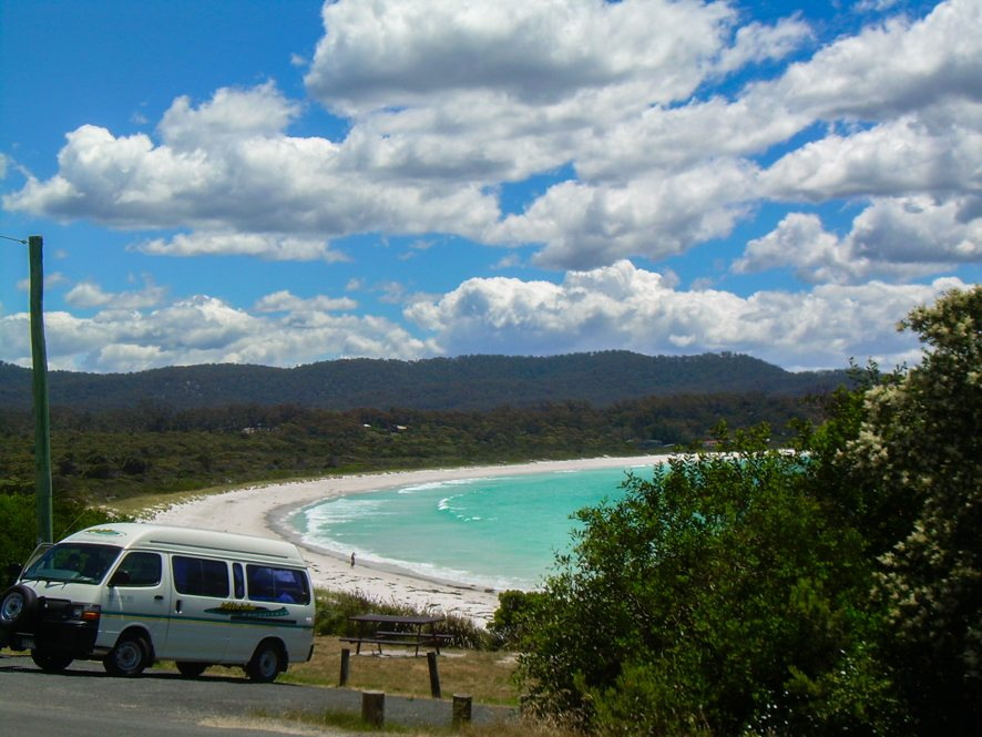 Visit Australia, New Zealand, the USA, Canada... in a campervan