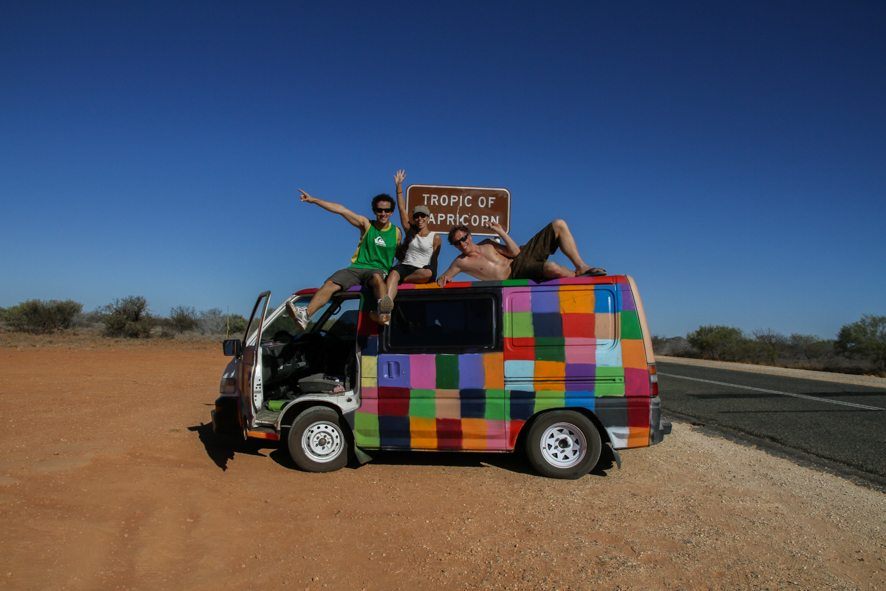Travel in Australia on a budget with campervan relocations