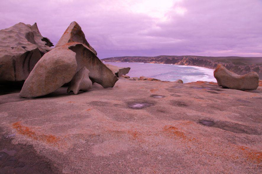 Remarkable Rocks, Kangaroo Island, Australie