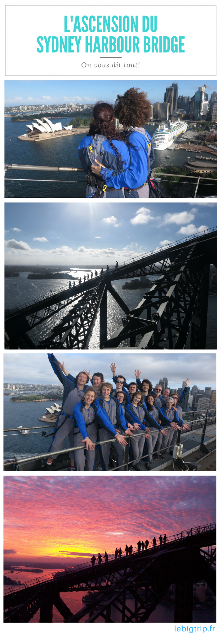 Ascension du Sydney Harbour Bridge