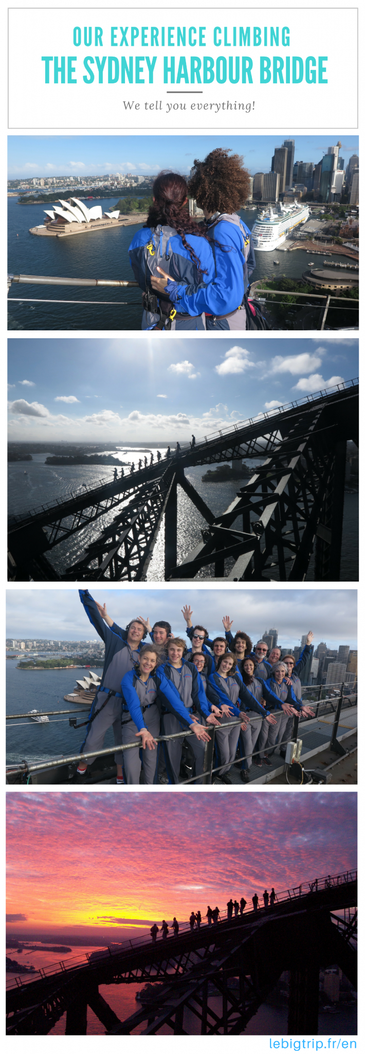 The Sydney Harbour Bridge climb