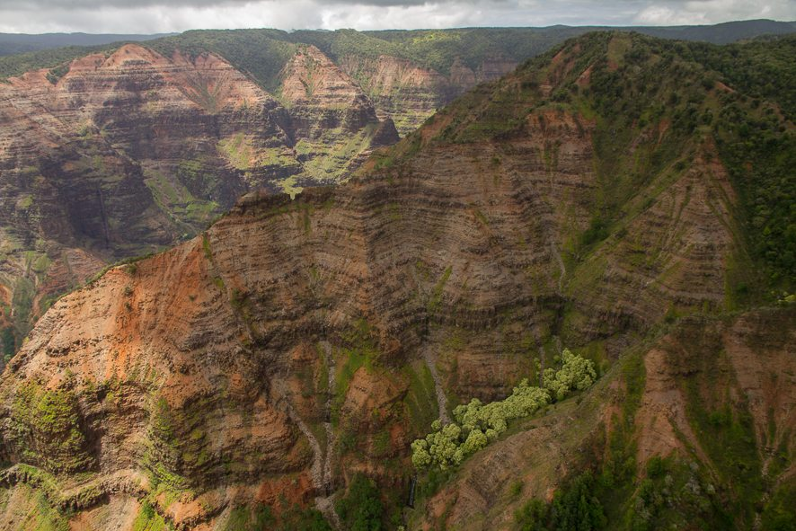 Waimea Canyon Kauai - Aerial photography - helicopter tour