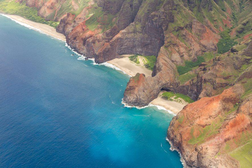 Superbe Napali Coast à Kauai à ne pas rater!