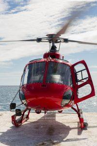 Voler en helicoptere sur la grande barrière de corail