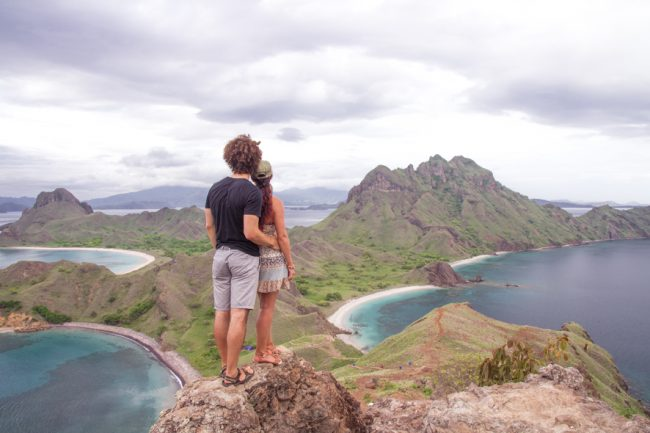 Padar island is one of the best spots for photography and nature lovers