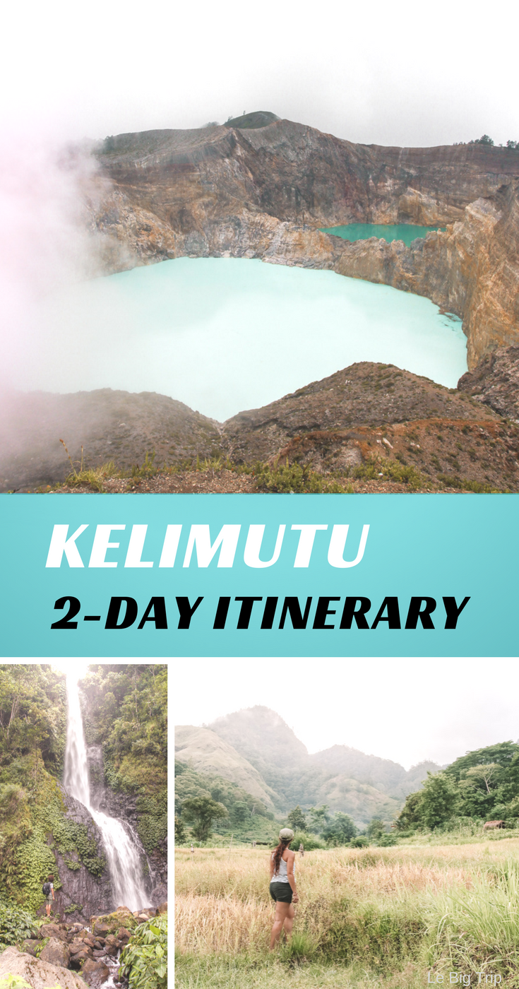 Make the most of your time in Kelimutu, Flores with our itinerary