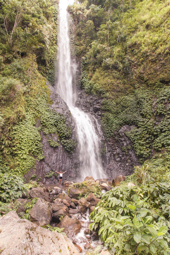 Waterfall Murekeba Muru near Moni