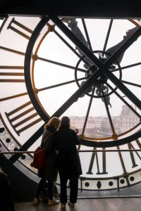 View from the Musee d'Orsay in Paris