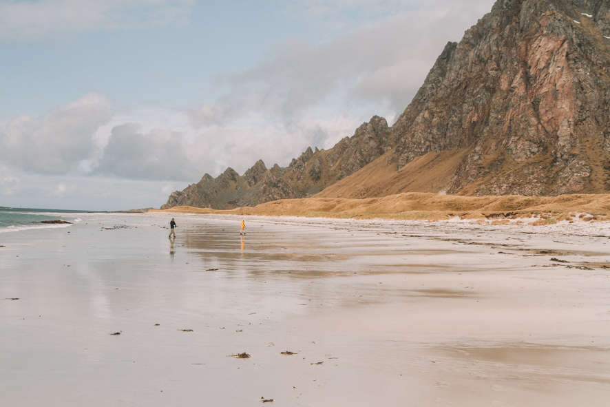 Bleik's beach on the Andøya island, Vesteralen, Norway