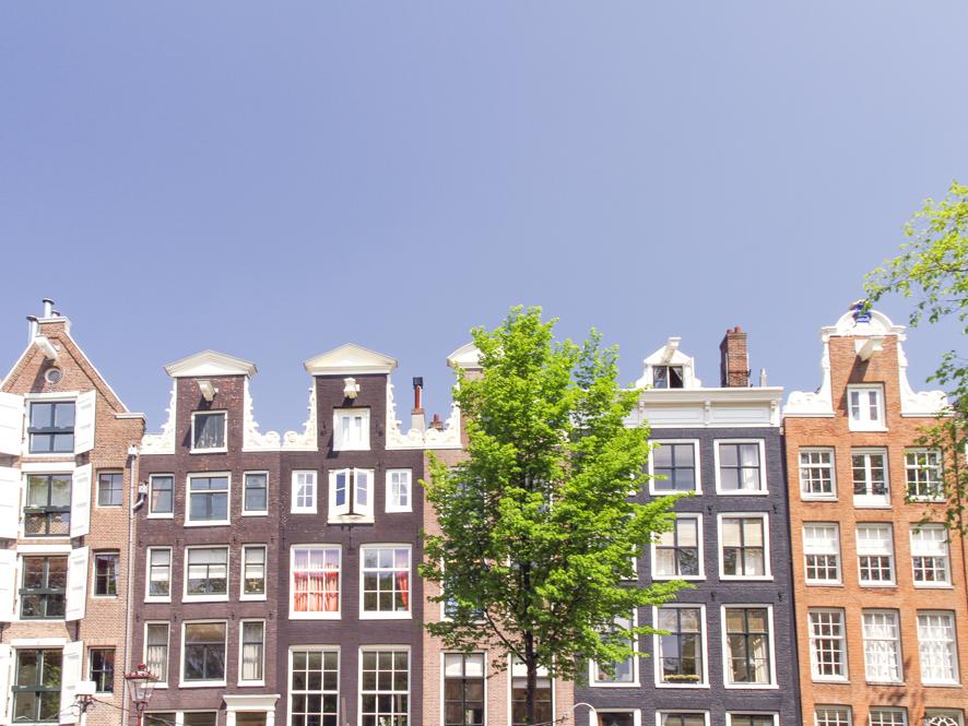 Amsterdam's beautiful building