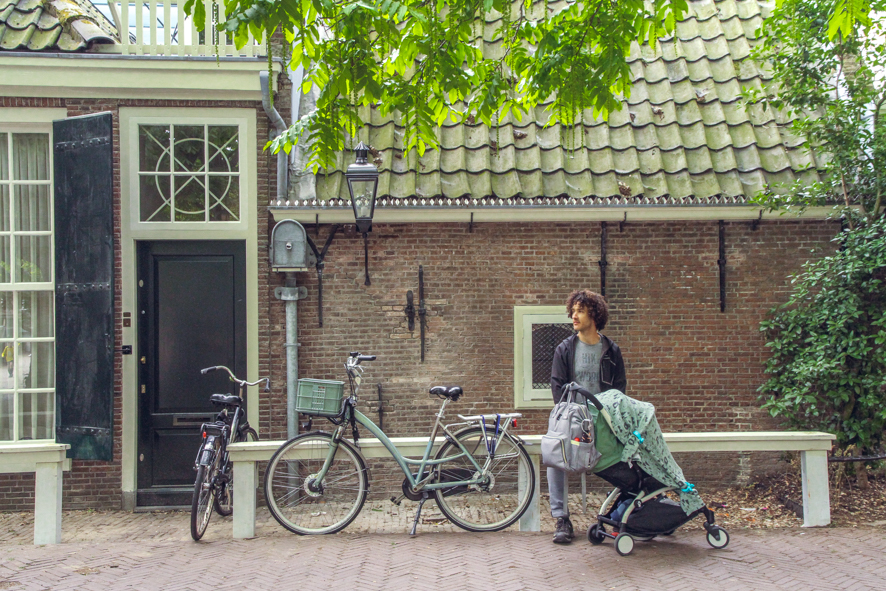 Visit Amsterdam with a baby