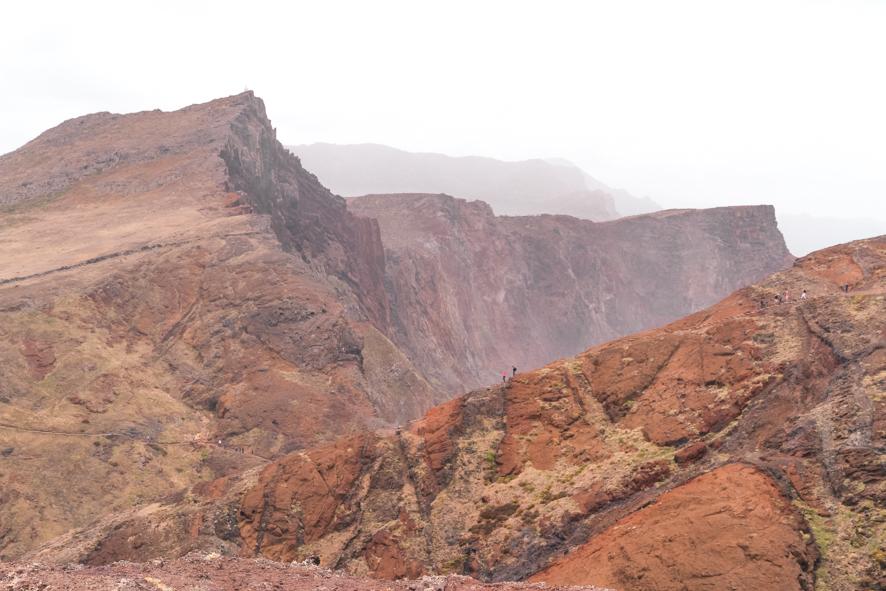 Cliffs of the Ponta de São Lourenço hike