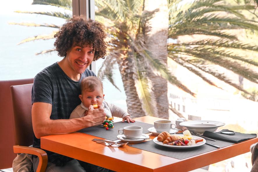 Delicious breakfast at Estalagem da Ponta do Sol