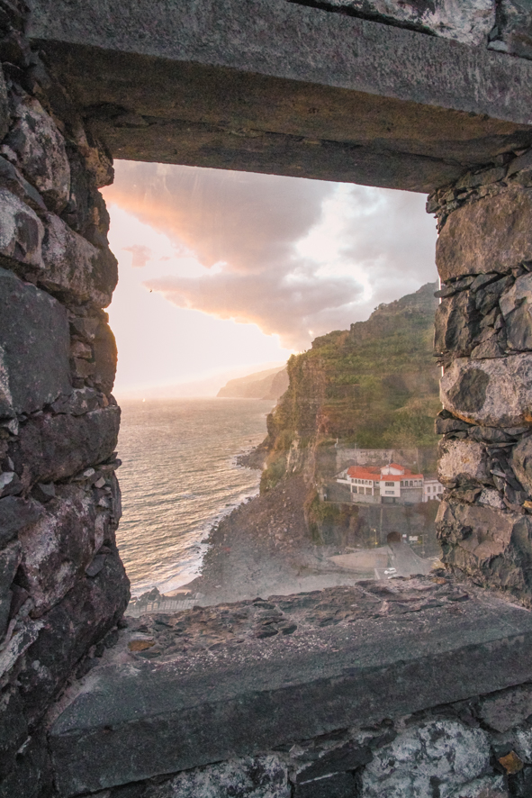 Stunning view from Estalagem da Ponta do Sol